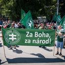 protest proti Dúhovému Pridu v Bratislave, kotlebovci, ľsns, kotleba,
