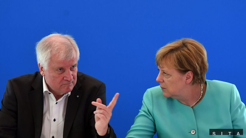 Horst Seehofer, Angela Merkelová, Angela Merkel,