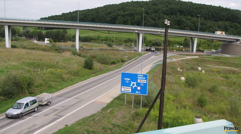 diaľnica, Prešov, obchvat