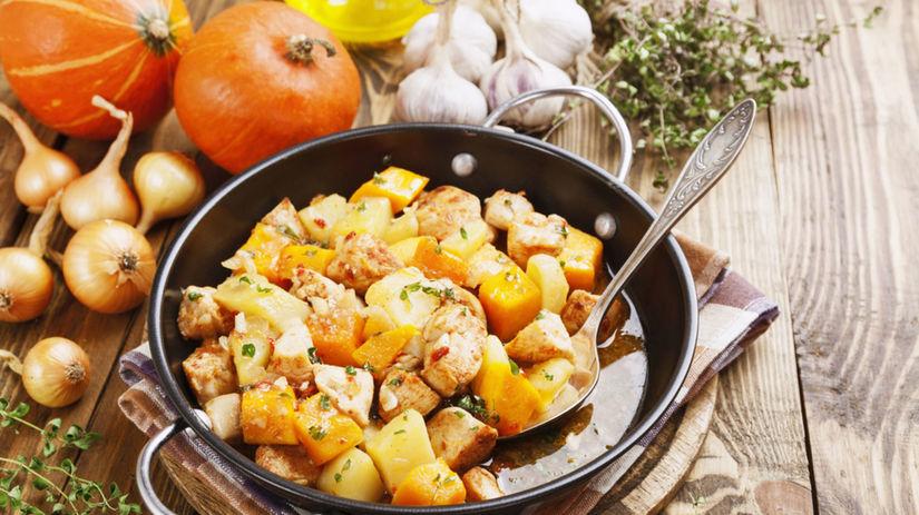 tekvica, zemiaky