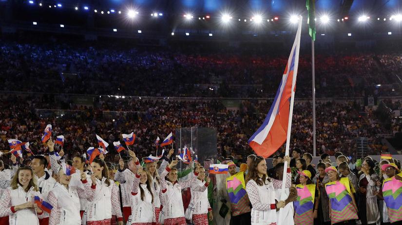 Rio 2016, slávnostný ceremoniál, Slovensko