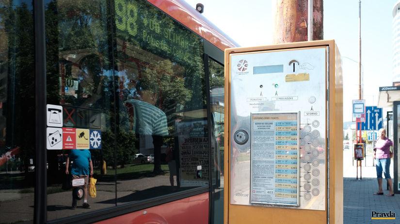 MHD, automas, lístky