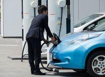 automobil, elektromobil, tankovanie, alternatívny pohon