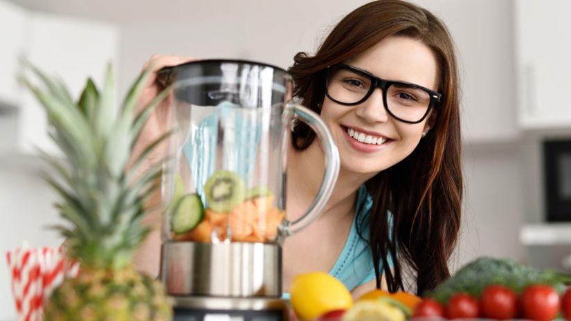 smoothie, raňajky, zdravá výživa
