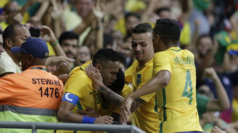 Neymar, Brazília, radosť