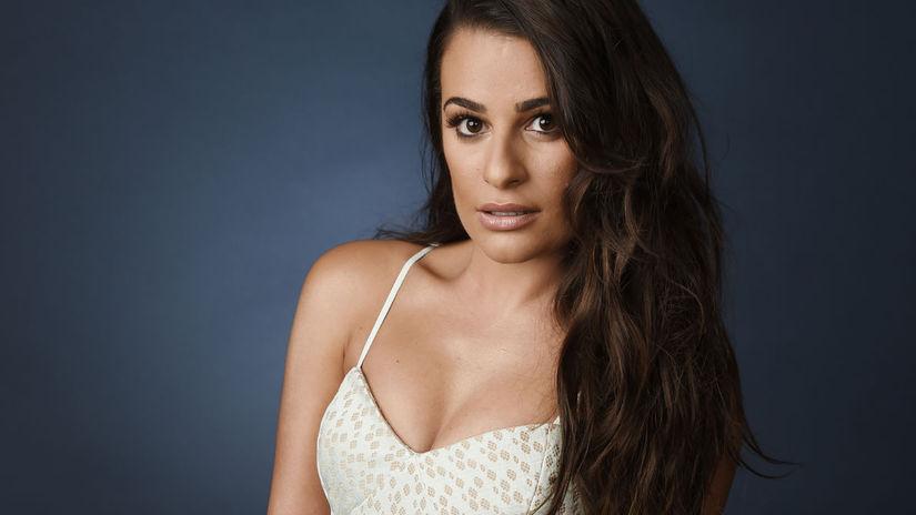 Herečka Lea Michele na archívnom zábere.