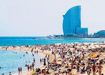 Španielsko, pláž, turizmus