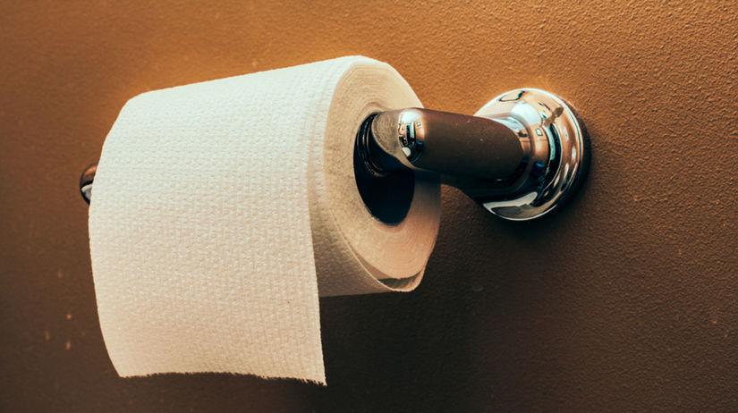 záchod, toaleta, WC, toaletný papier