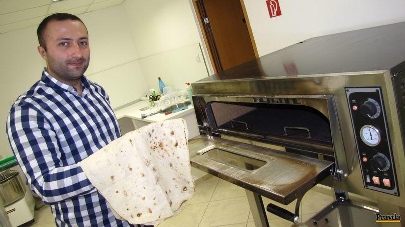 chleba, arménsko, lavaš