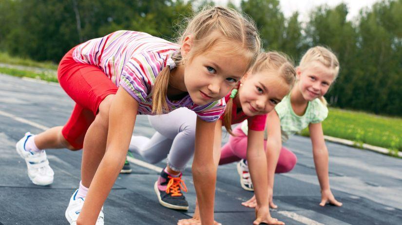 deti, pohyb, šport, škola