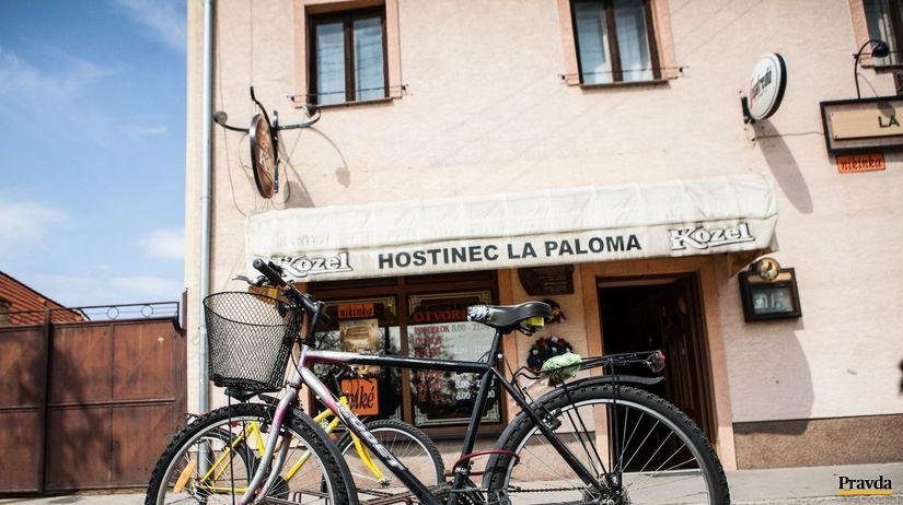bicykel, hostinec, krcma, alkohol, ivanka pri...