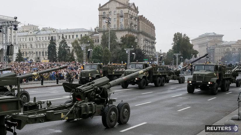 vojenská prehliadka, majdan, ukrajina,