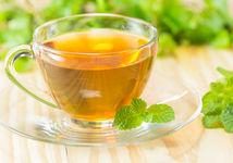 nápoj, mäta, zázvor, čaj
