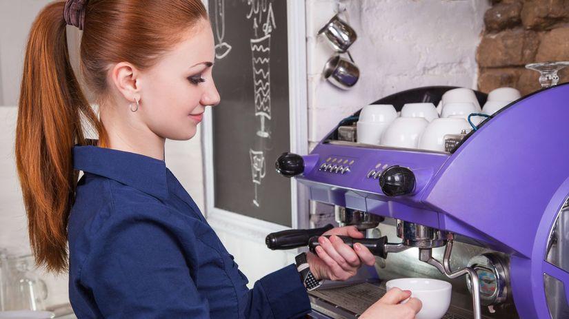 brigáda, dohoda, študent, káva, kaviareň