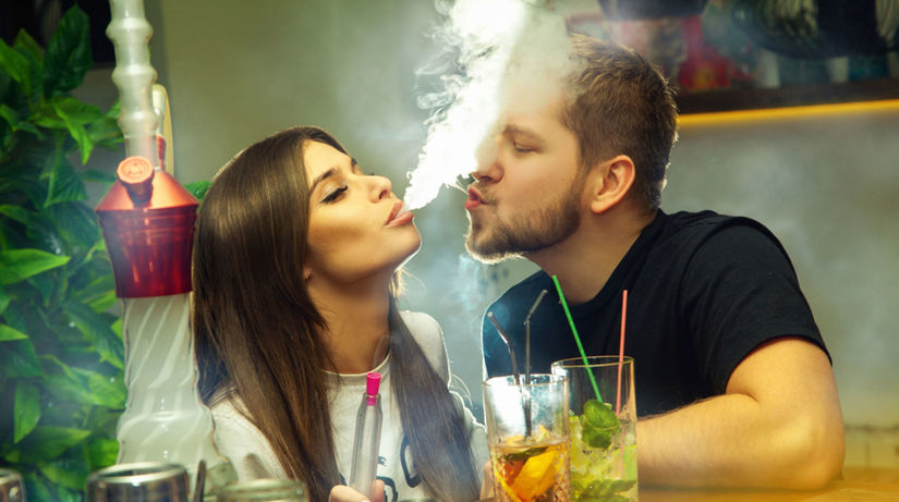 fajčenie, alkohol, drogy, vodná fajka