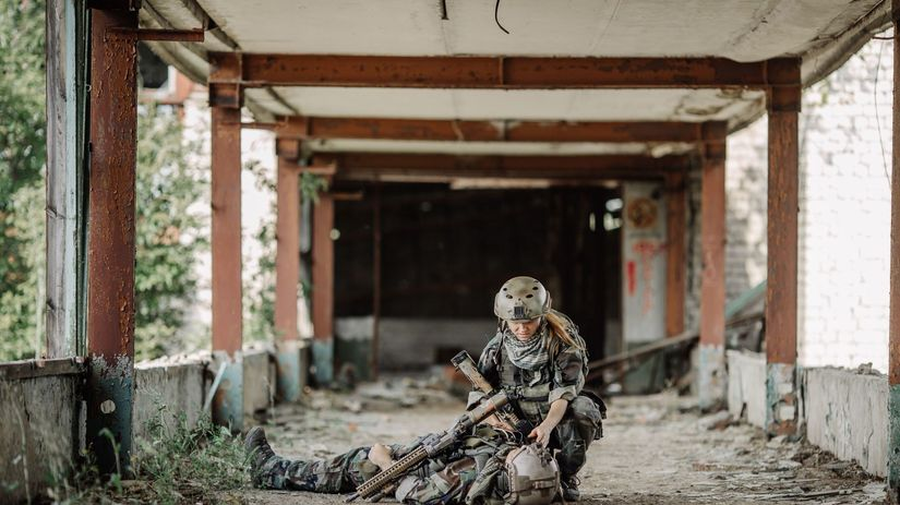 armáda, vojaci