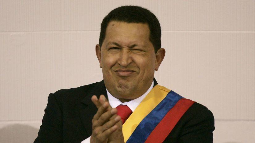 Hugo Chávez, prezident, venezuela