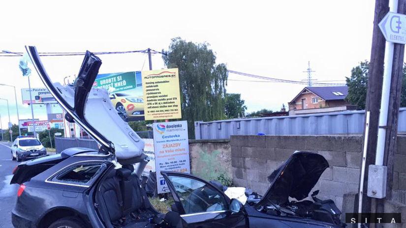 Ulica Svornosti, dopravná nehoda