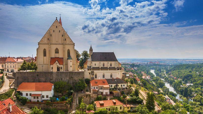 Znojmo, Česko, víno, Morava