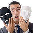 muž, maska, podvodník