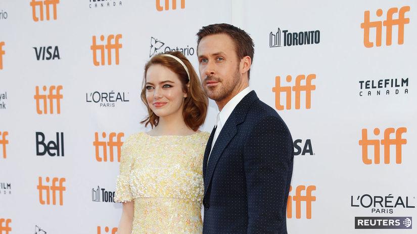 Ryan Gosling a jeho kolegyňa Emma Stone