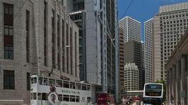 Hongkong, mesto, budovy