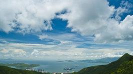 Hongkong, park, zeleň
