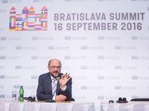Martin Schultz, bratislavský summit
