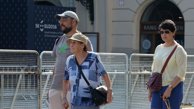 slovenské predsedníctvo, turisti
