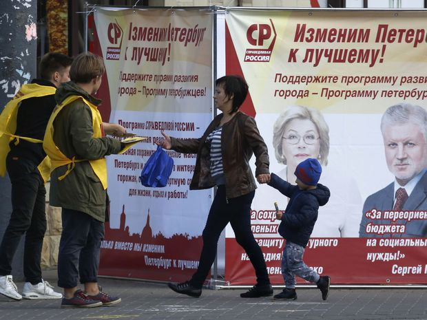 Rusko, voľby