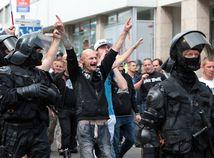 protest stop islamizacie europy namestie SNP extremisti