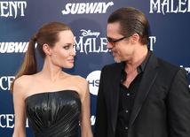 Brad Pitt a jeho manželka Angelina Jolie