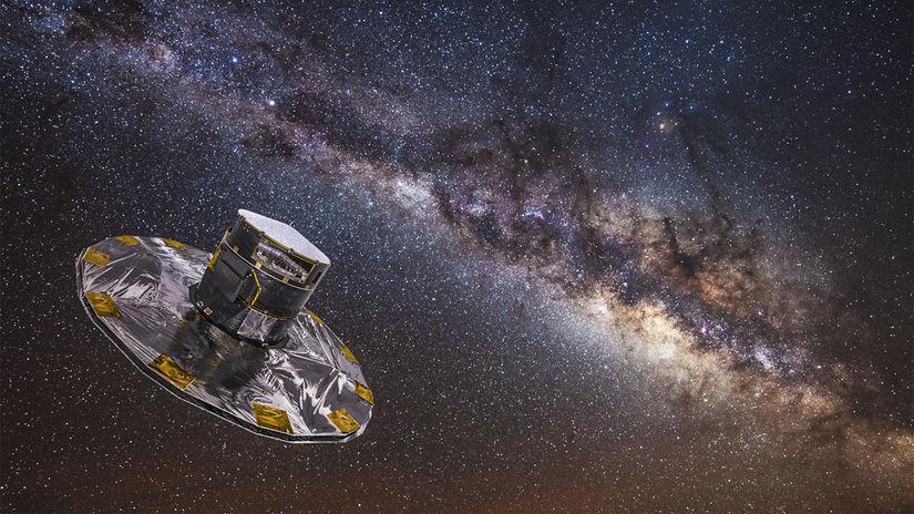 teleskop Gaia, Mliečna cesta