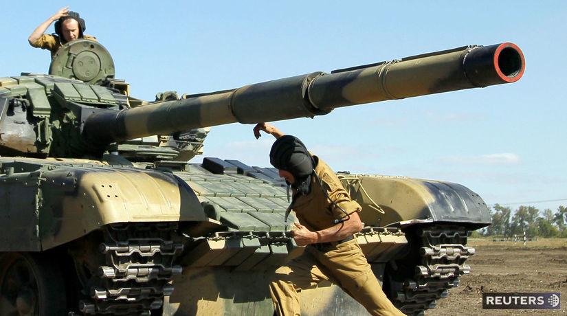 Ukrajina, Luhansk, T-72