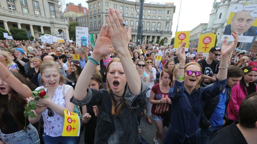 poľsko, protest, varšava, interupcie