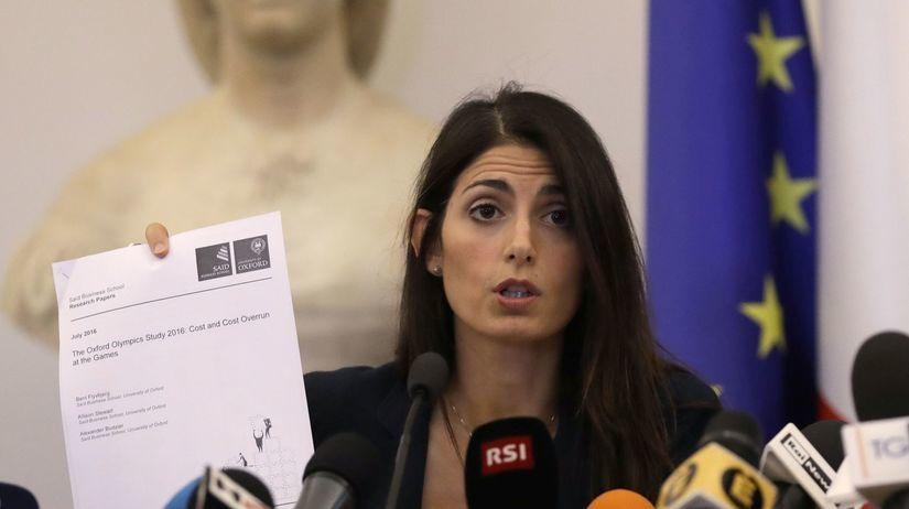 Virginia Raggiová, starostka, Rím