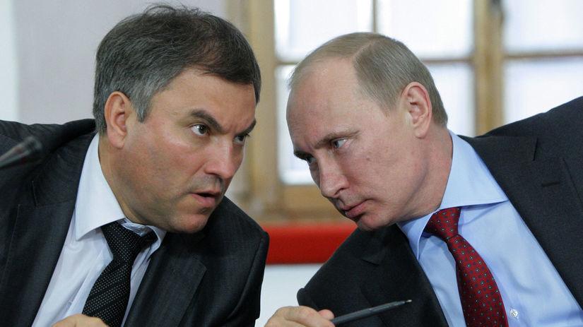 Viačeslav Volodin, Vladimir Putin,
