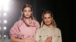 Gigi Hadid (vľavo) a Lauren Hutton