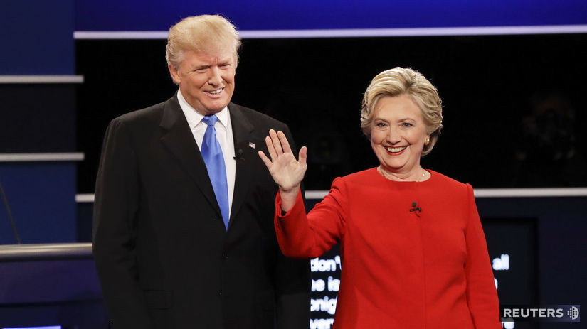 Hillary Clintonová, Donald Trump