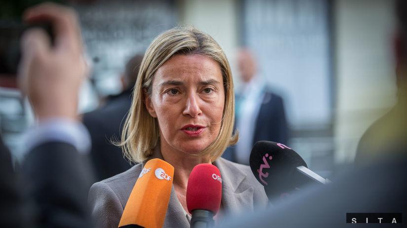 ministri obrany, Federica Mogheriniová