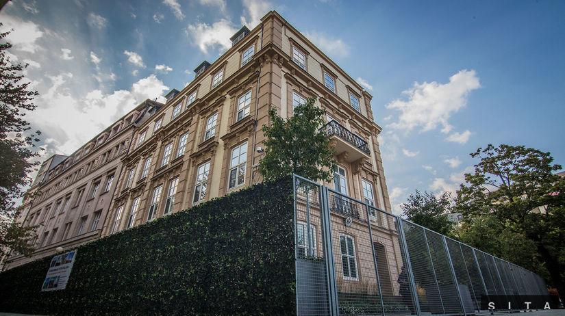 Americká ambasáda v Bratislave, Hviezdoslavovo...