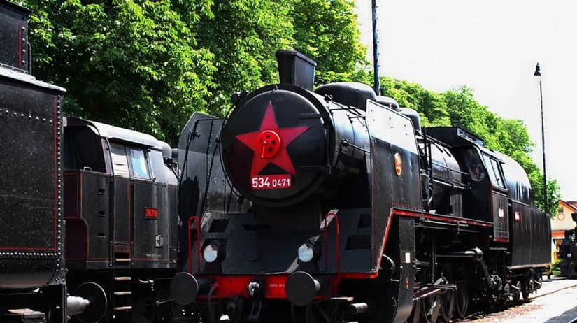 múzeum dopravy, lokomotíva