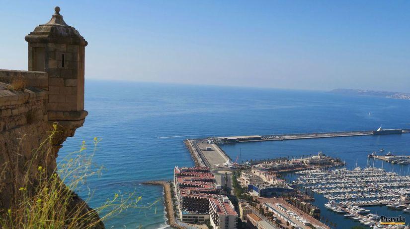Alicante, Španielsko, mesto, hrad