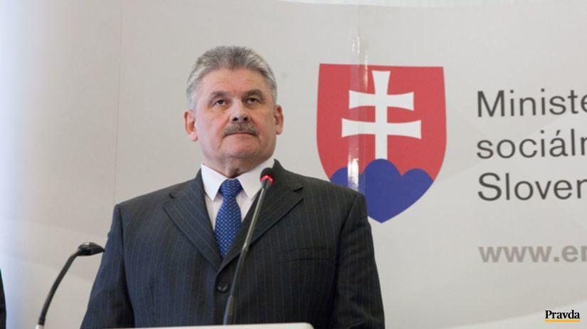 Ján Richter, minister práce