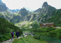 Vysoke tatry, turistika, pocasie, Chata pri Zelenom plese