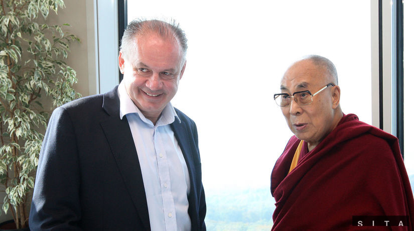 dalajláma, prezident, Andrej Kiska