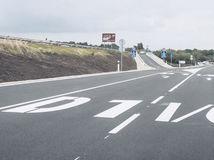 diaľnica, D1, cesta, blatné