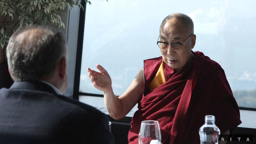 dalajláma, prezident, Kiska