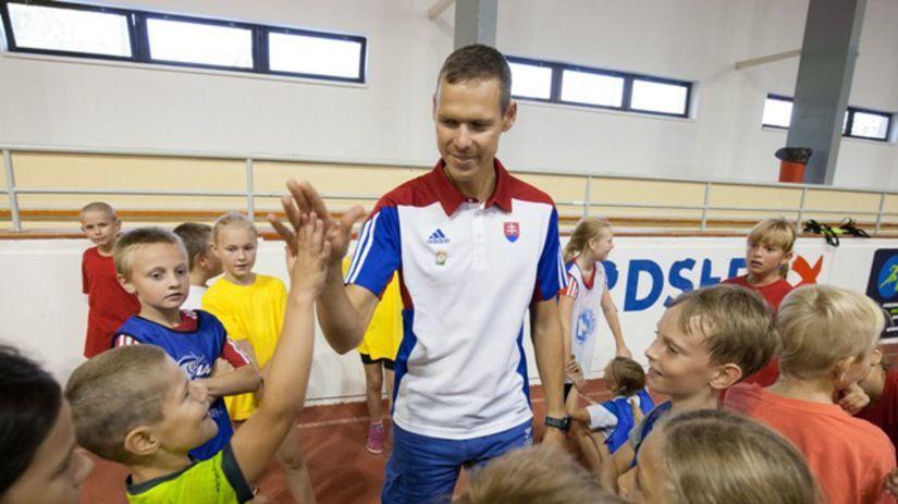 Matej Tóth, deti, šport, telocvičňa