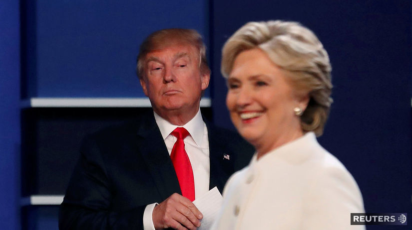 trump, clintonová, donald trump, hillary clinton,